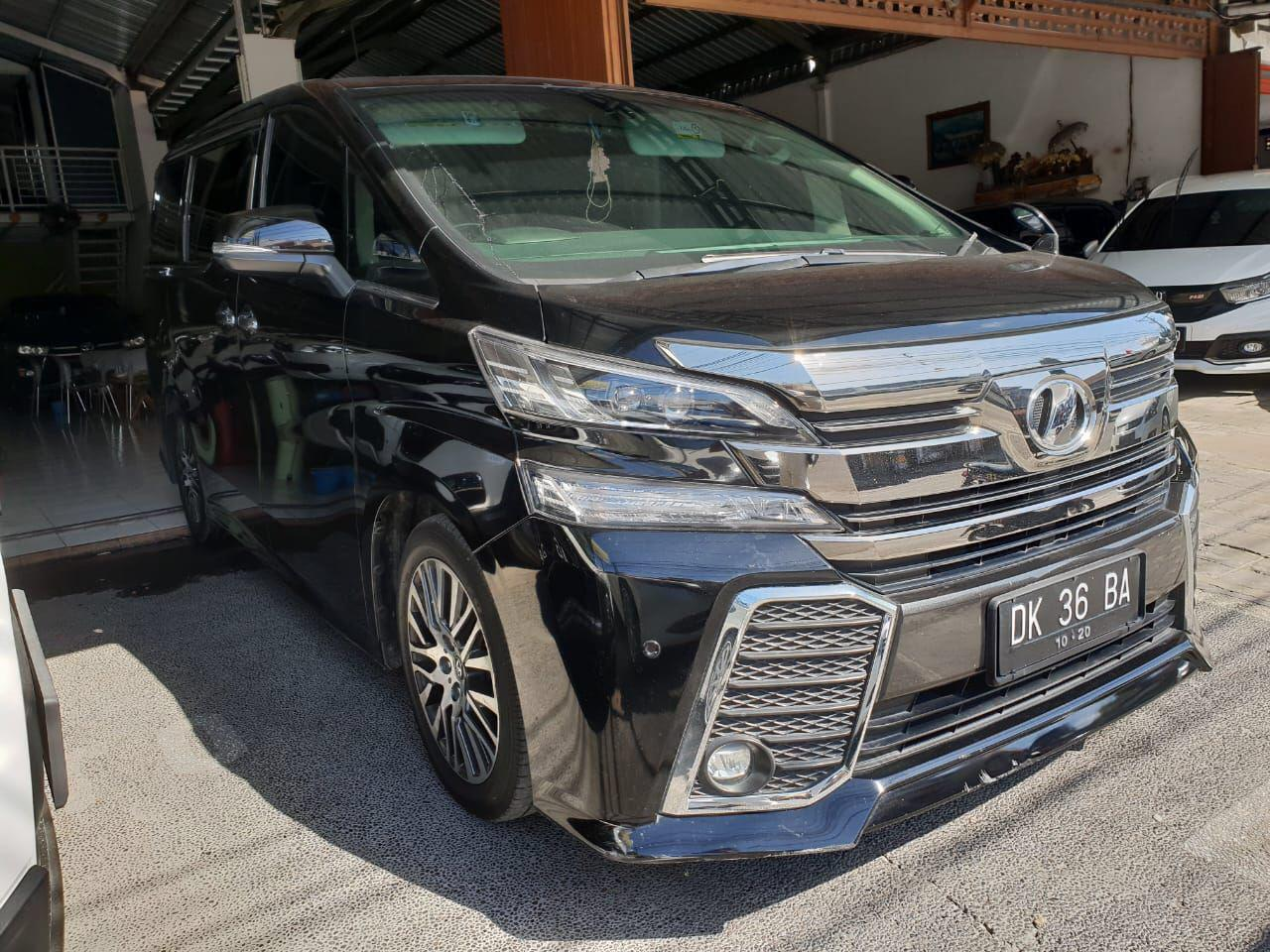 Pilihan Alphard Terbaik Untuk Liburan di Bali