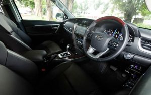 Interior Toyota Fortuner